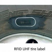 UHF TIRE LABEL